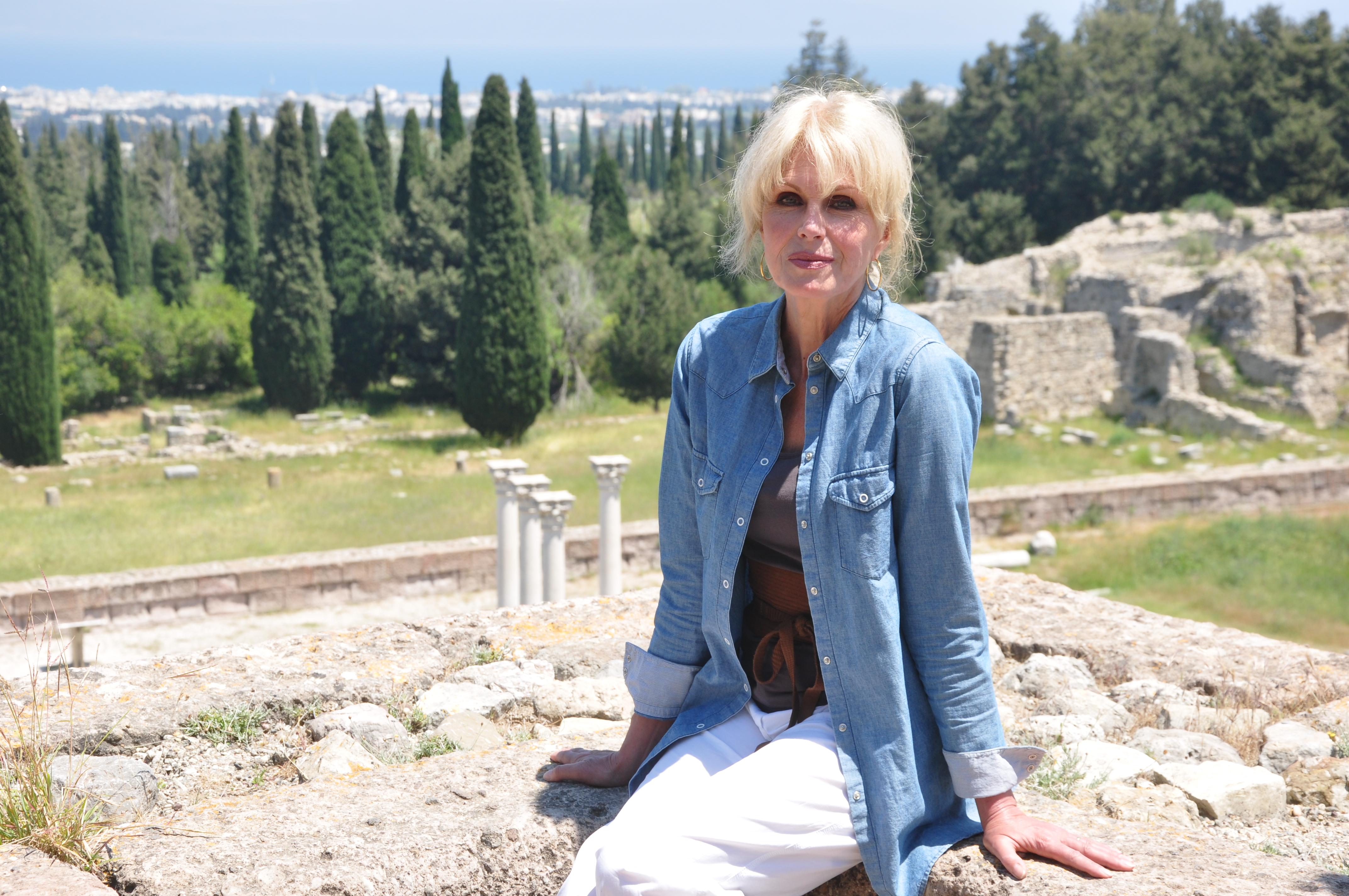 Joanna Lumley in Griekenland