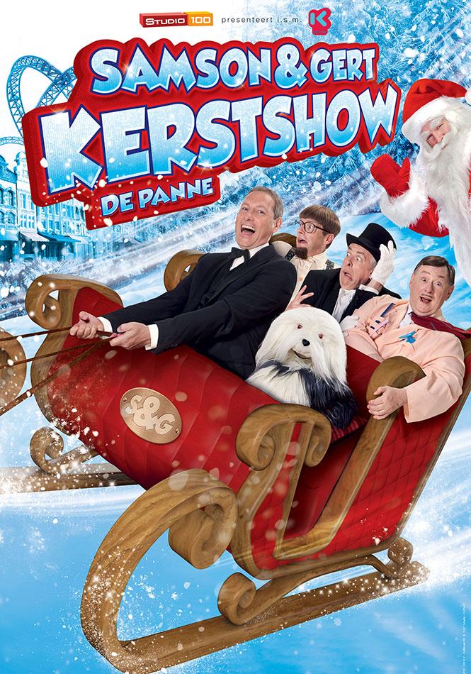 Samson en Gert kerstshow, 2013 - 2014