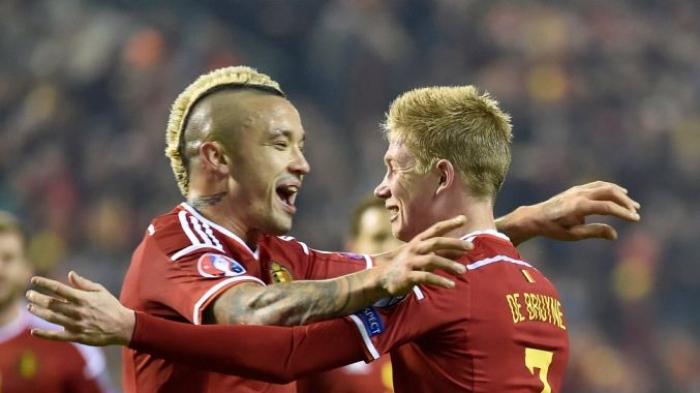 De Rode Duivels: België - Spanje