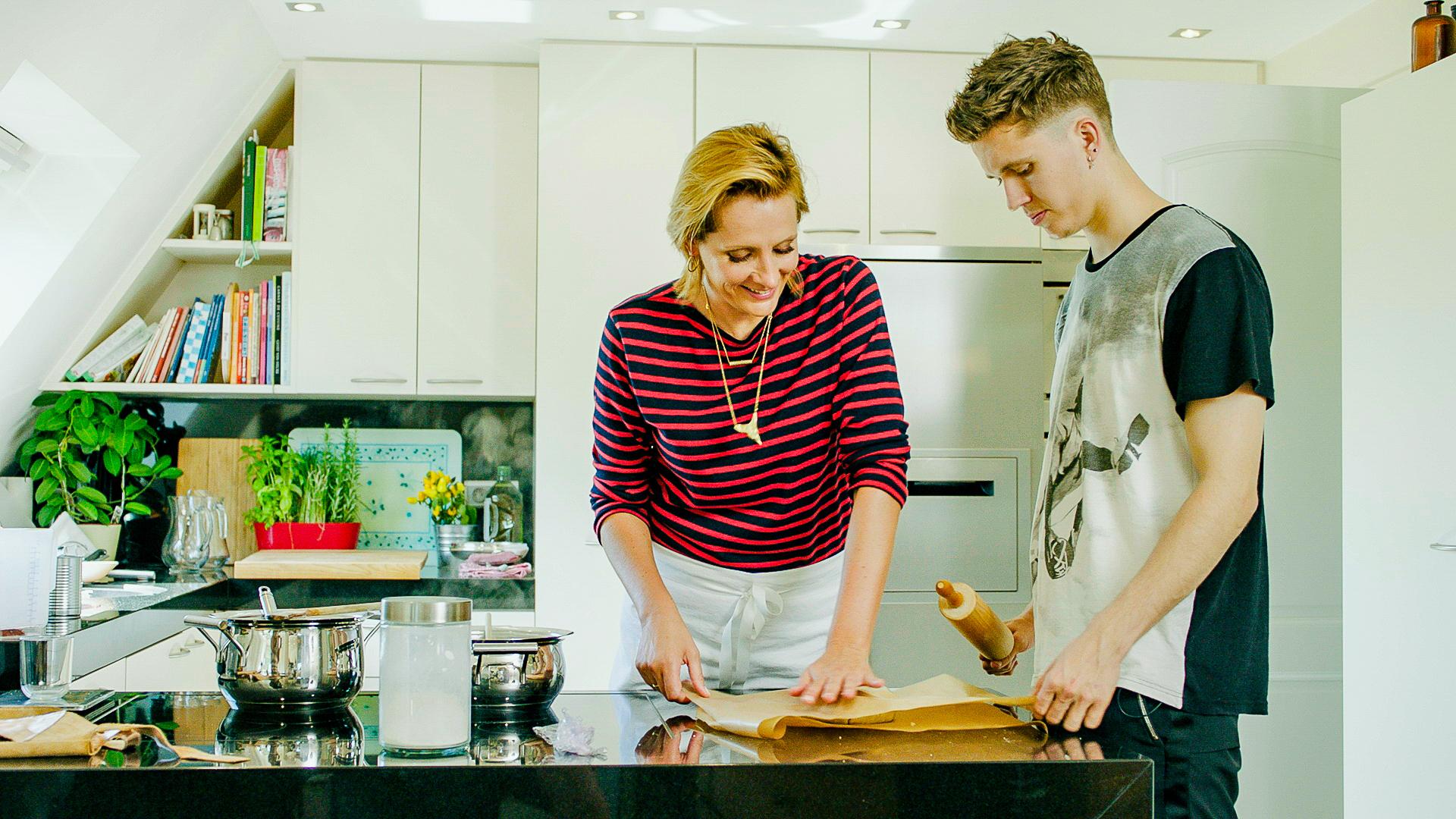 Sofie in de Keuken van